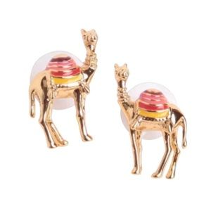 KATE SPADE • Spice Things Up Camel Earrings